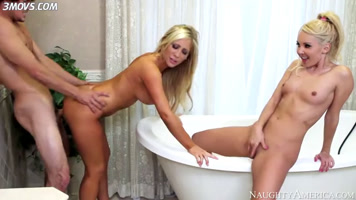 Free porn video with blondes Aaliyah Love and Tasha Reig