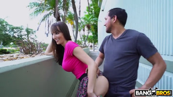 Lexi Luna fucked by a stranger in the street